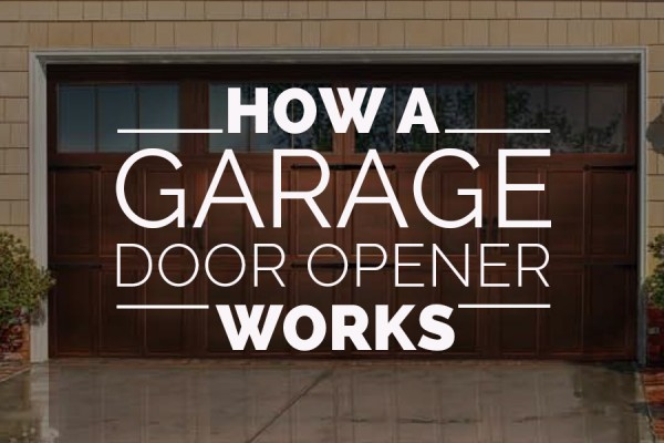 Ordinaire How A Garage Door Opener Works