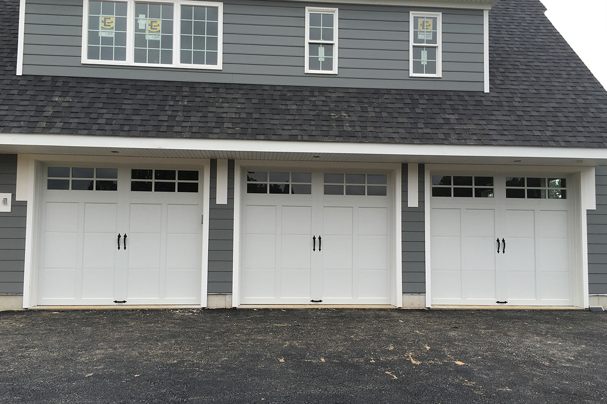 White Clopay Garage Doors